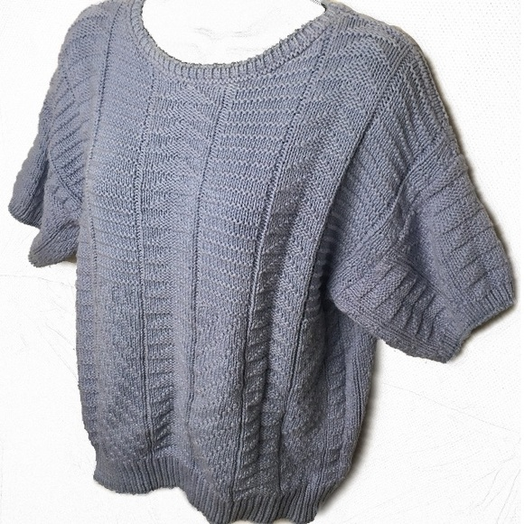 Knit Maven Sweaters Vintage 100 Cotton Made In Usa Sweater Poshmark